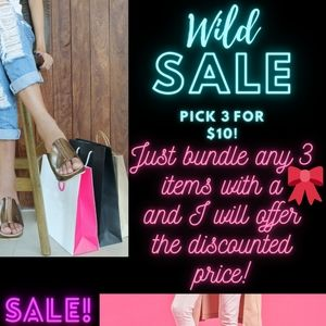 🎀3 FOR $10 SALE!🎀
